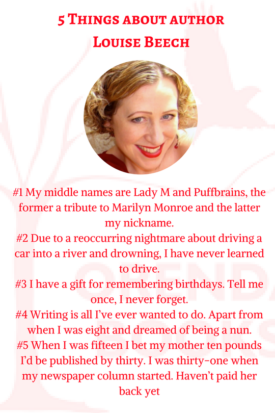 5 things about louise beech