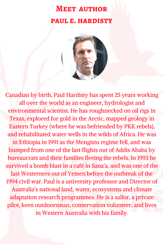 Paul E Hardisty bio finished