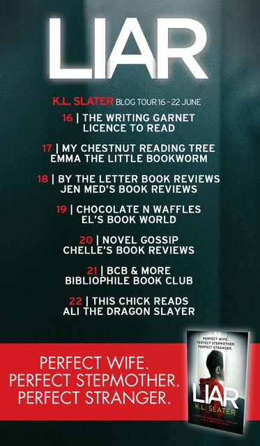 liar blog tour poster