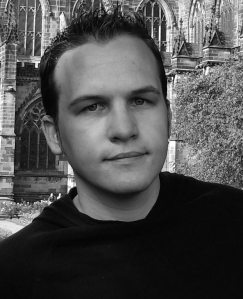 Stephen Edger Profile photo (b&w)