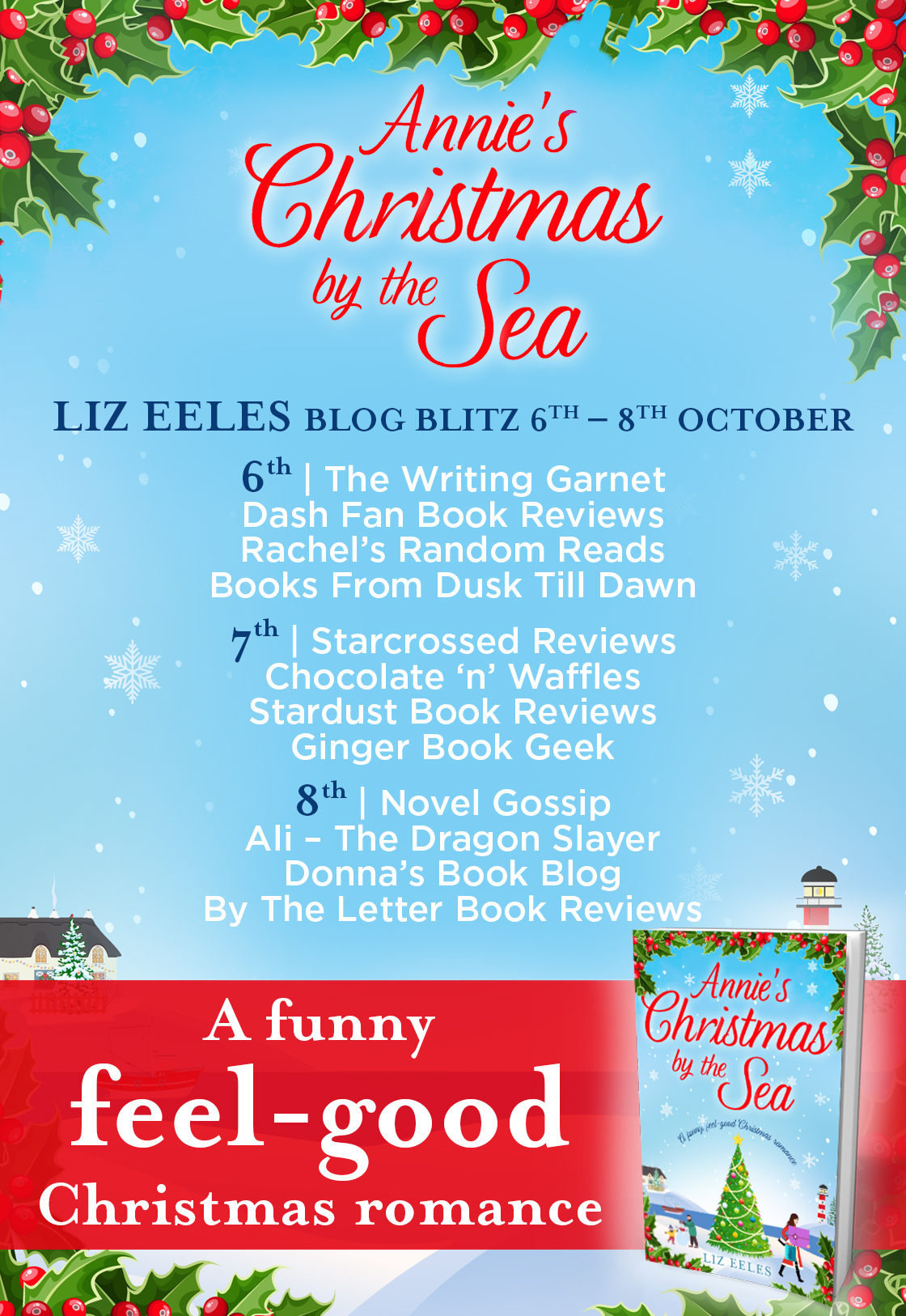 Oh Oh Oh, Surprise! Annie's Christmas by the Sea by Liz Eeles ...
