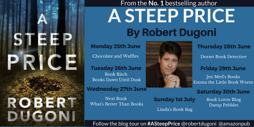 A Steep Price - blog tour banner