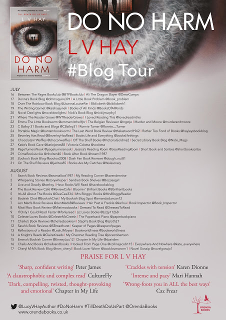 FINAL DO NO HARM BLOG TOUR POSTER