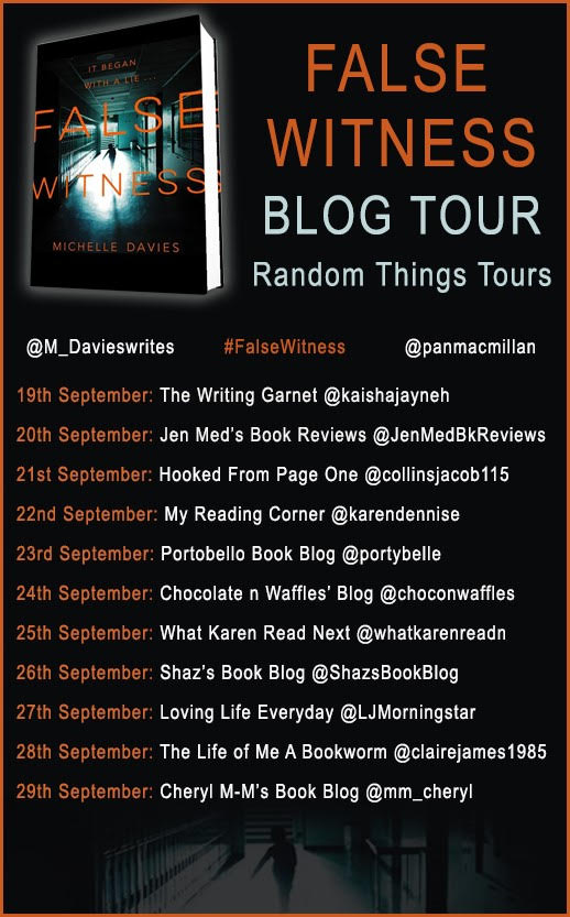false witness blog tour banner