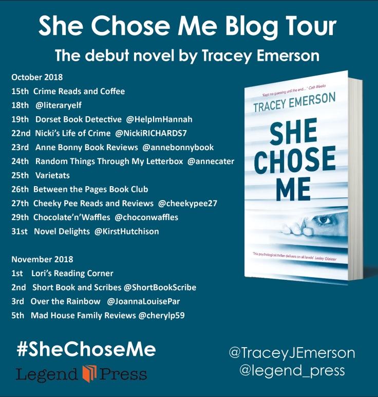 She Chose Me Blog Tour Banner