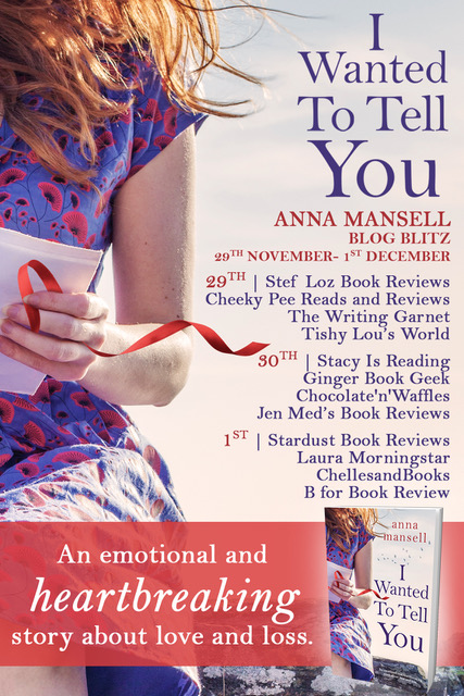 I Wanted to Tell You - Blog Tour