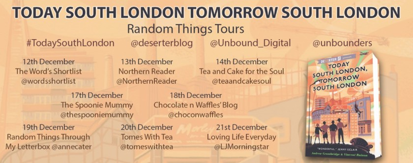 Today South London Blog tour Poster