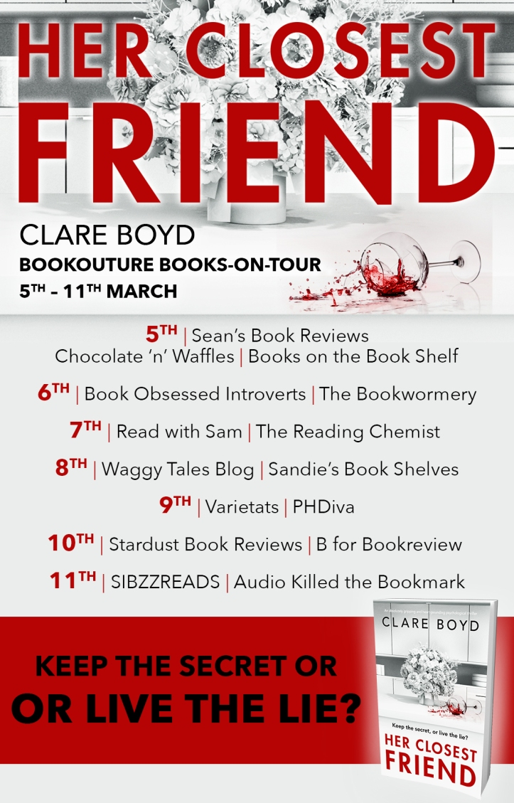 Her Closest Friend - Blog Tour
