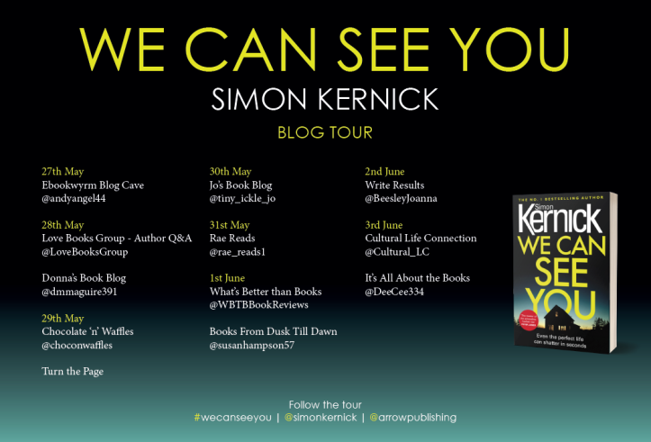 Blog tour we can see you