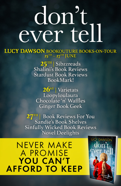 Don't Ever Tell - Blog Tour
