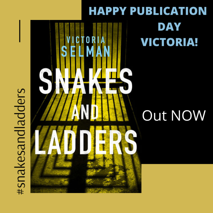 HAPPY PUBLICATION DAY snakes and ladders