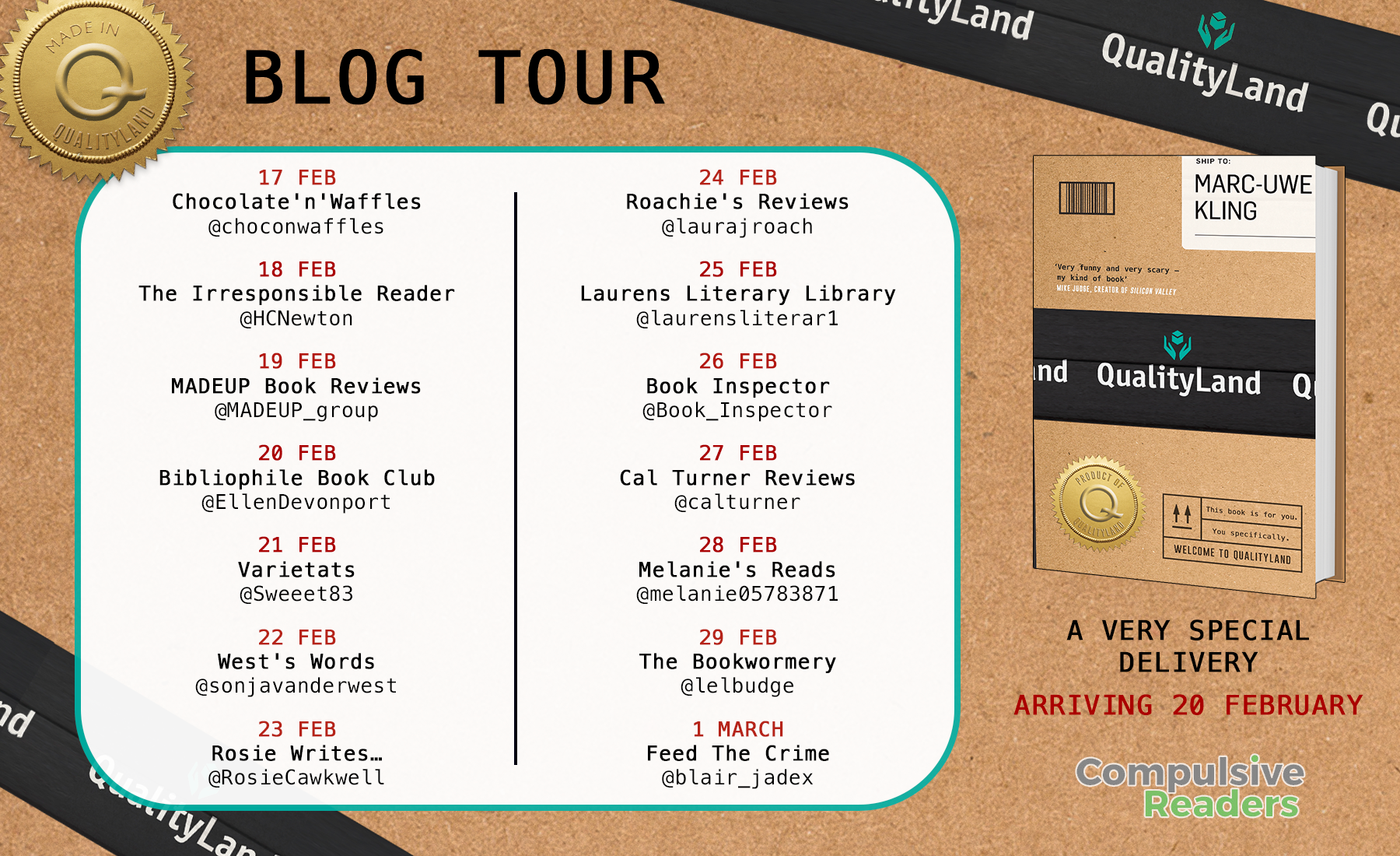 QUALITYLAND blog tour