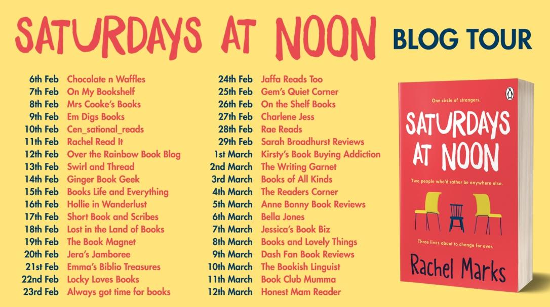 Saturdays at Noon Blog Tour