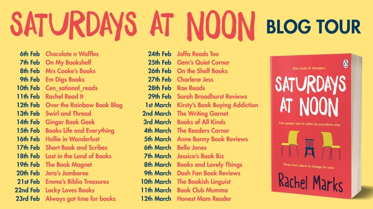 Saturdays at Noon Blog Tour