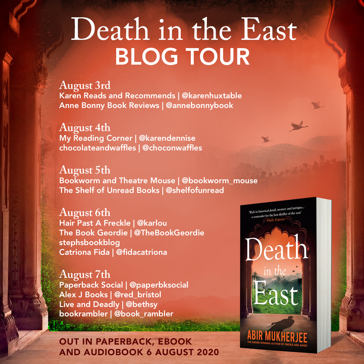 Death in the East_PB_Facebook Square_Blog Tour